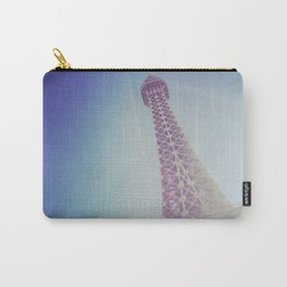 Faux Eiffel Carry-All Pouch