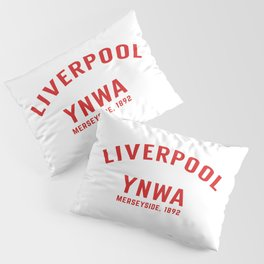 Liverpool tshirt | You'll Never Walk Alone | YNWA shirt | Premier league team Pillow Sham