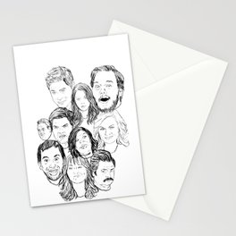 Parks and Recreation 'Rec a Sketch' Stationery Cards