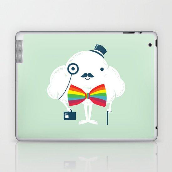 Rainbow-tie gentleman Laptop & iPad Skin