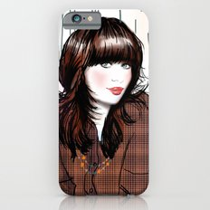 Zooey Deschanel Slim Case iPhone 6s
