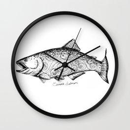 Chinook Salmon Wall Clock