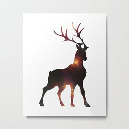 nightstag Metal Print