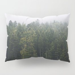 Into the Forest I go – Moody Landscape Photography Pillow Sham