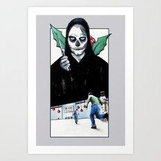 Black Xmas: The Final Bargain Art Print