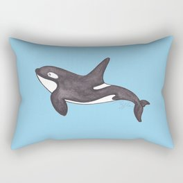 Whale Hello There Rectangular Pillow