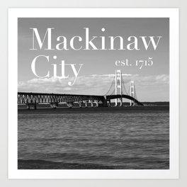 Mackinaw City Art Print