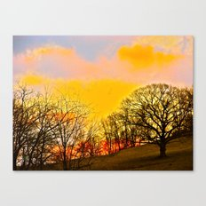 Feel the Sunrise Canvas Print