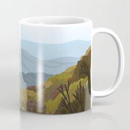 Shenandoah National Park, Virginia, Shenandoah River, Retro Vintage Style Poster Coffee Mug