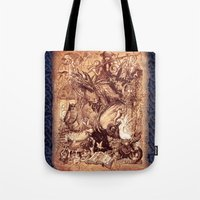 medieval Tote Bags featuring Medieval by TheMagicWarrior