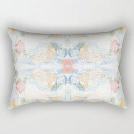 Direction - Mixed Media Abstract Art by Jennifer Lorton Rectangular Pillow