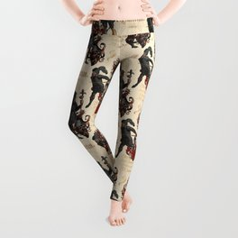 Medieval Knights in Shining Armor Leggings
