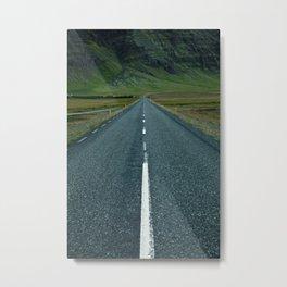 Iceland - N1 Metal Print