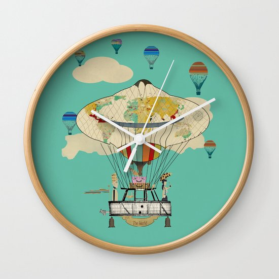 bill and brenda's world tour  Wall Clock