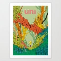 uni Art Print