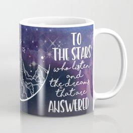 To the people who look the stars and wish... Coffee Mug