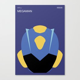 Poster Nintendo Megaman Canvas Print