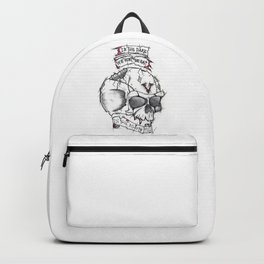 The skull Backpack