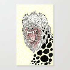 Monstrous and Free Canvas Print