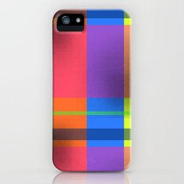 Rectangles in Square iPhone Case