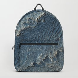martian-made crater ripples | space 015 Backpack