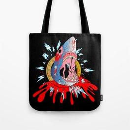 Zombie Shark Tote Bag