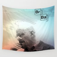breaking Wall Tapestries featuring Breaking Bad by Crazy Thoom