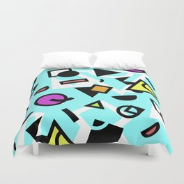 Funky shapes Duvet Cover
