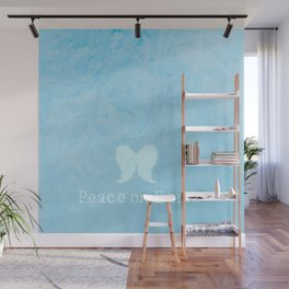 Peace On Earth Angel Wings Wall Mural
