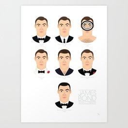 James Bond Sean Connery Art Print