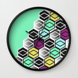 HexagonWall Wall Clock