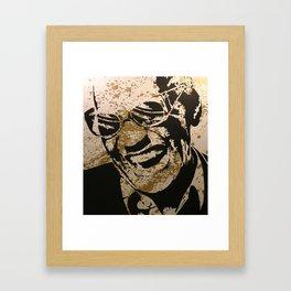 Ray Charles Framed Art Print