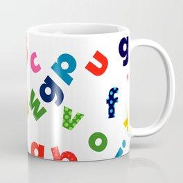 colourful alphabet Coffee Mug