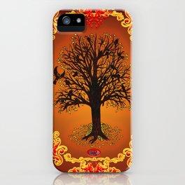 Goldleaf and Grackles iPhone Case