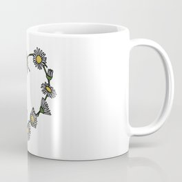 Daisy Chain Heart Coffee Mug
