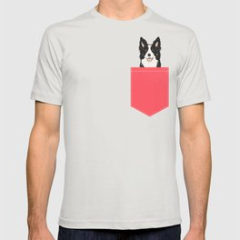 Montana - Border Collie gifts for dog people and dog lovers perfect gifts for a dog person.  T-shirt