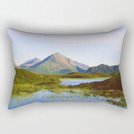 Glen Sligachan and The Cuillin Hills Rectangular Pillow