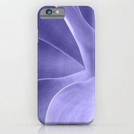 Periwinkle Succulent iPhone Case