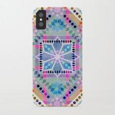 Folksy {1A} iPhone X Slim Case