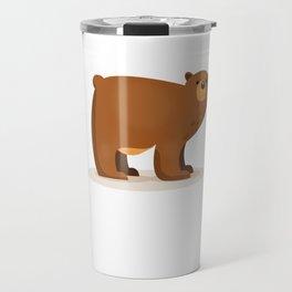 Cute Bear Travel Mug
