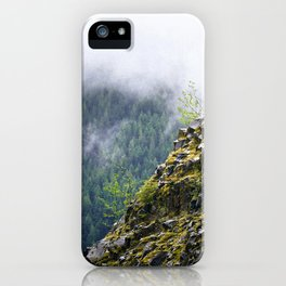 Rocky Cliff Face iPhone Case