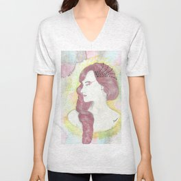 simplicity of a queen-Hera Unisex V-Neck