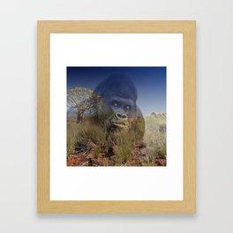 Magic Animals GORILLA Framed Art Print