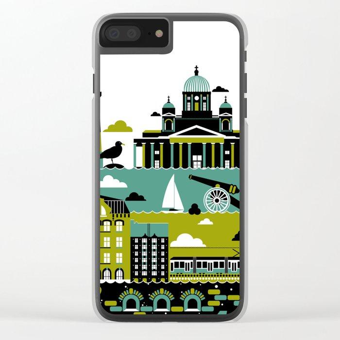 Helsinki Clear iPhone Case