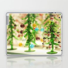 Snowmen Christmas trees Laptop & iPad Skin