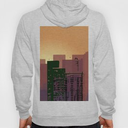 Sunset over San Francisco Hoody