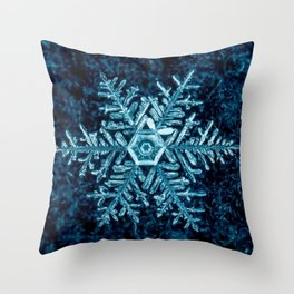 Snowflake - HIGH Throw Pillow