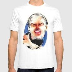 Jack Nicholson Mens Fitted Tee White MEDIUM