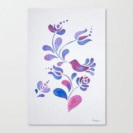 Violet Nature Canvas Print