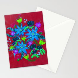 Sky Blooms Stationery Cards